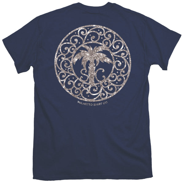 Glitter Medallion T-Shirt