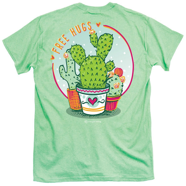 Free Hugs Cactus T-shirt - Youth