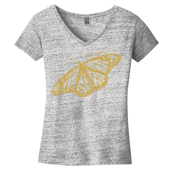 Just Wing It V-Neck T-shirt