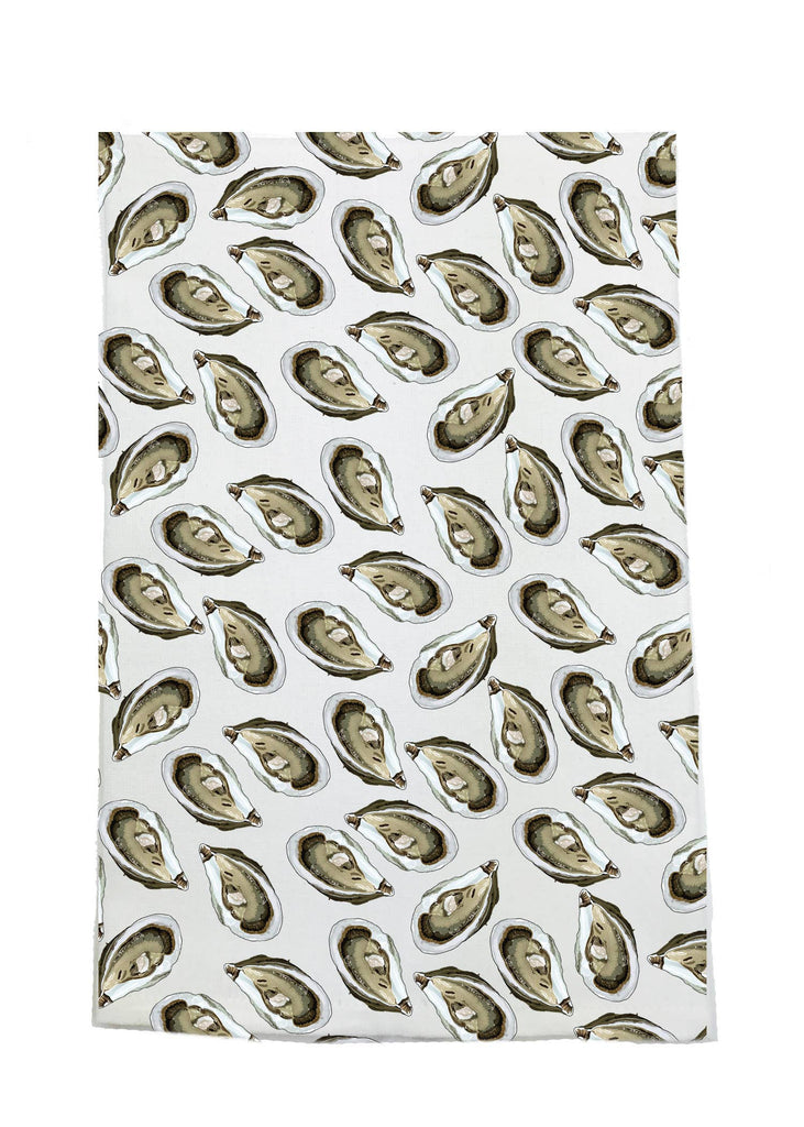 Oyster Kitchen Towel