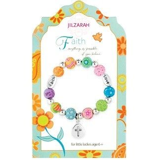 Faith Girls Youth Bracelet