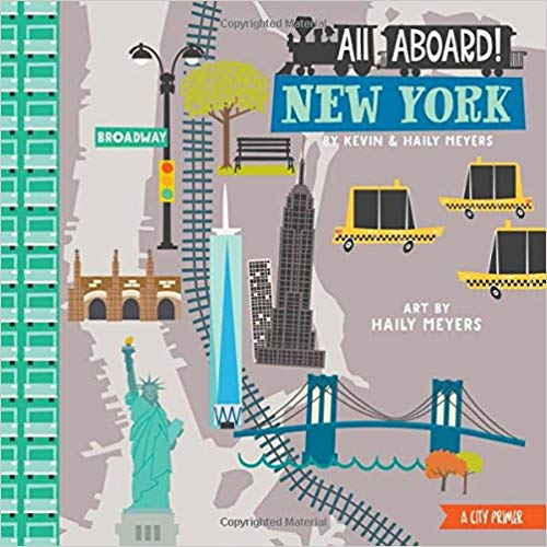 All Aboard New York Children's Book