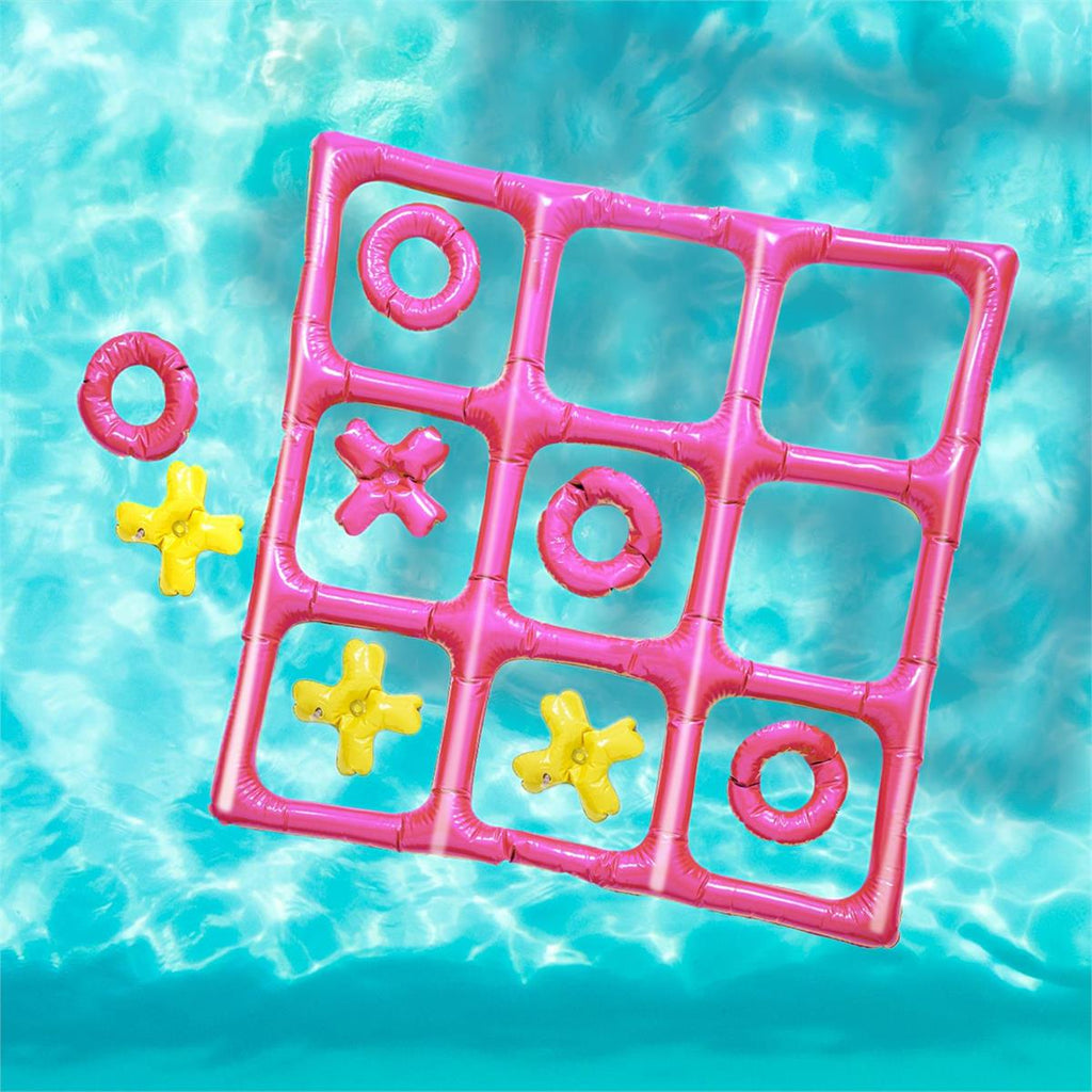 Inflatable Tic-Tac-Toe Pool Game in Box