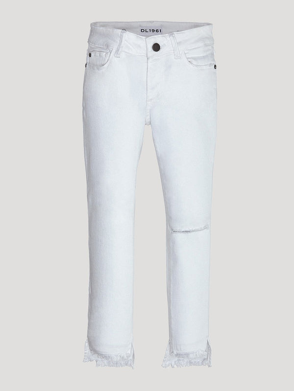 DL1961 Chloe Distressed Skinny Jeans