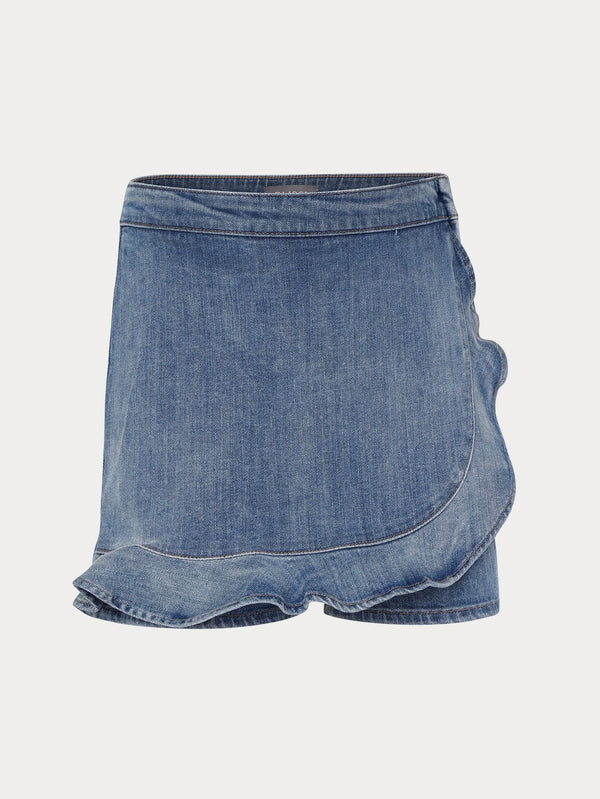 DL1961 Lola Light Denim Skort