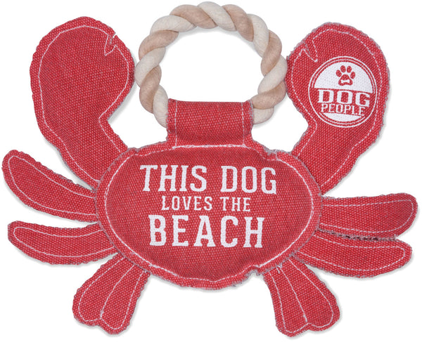 Beach Dog Crab Dog Toy