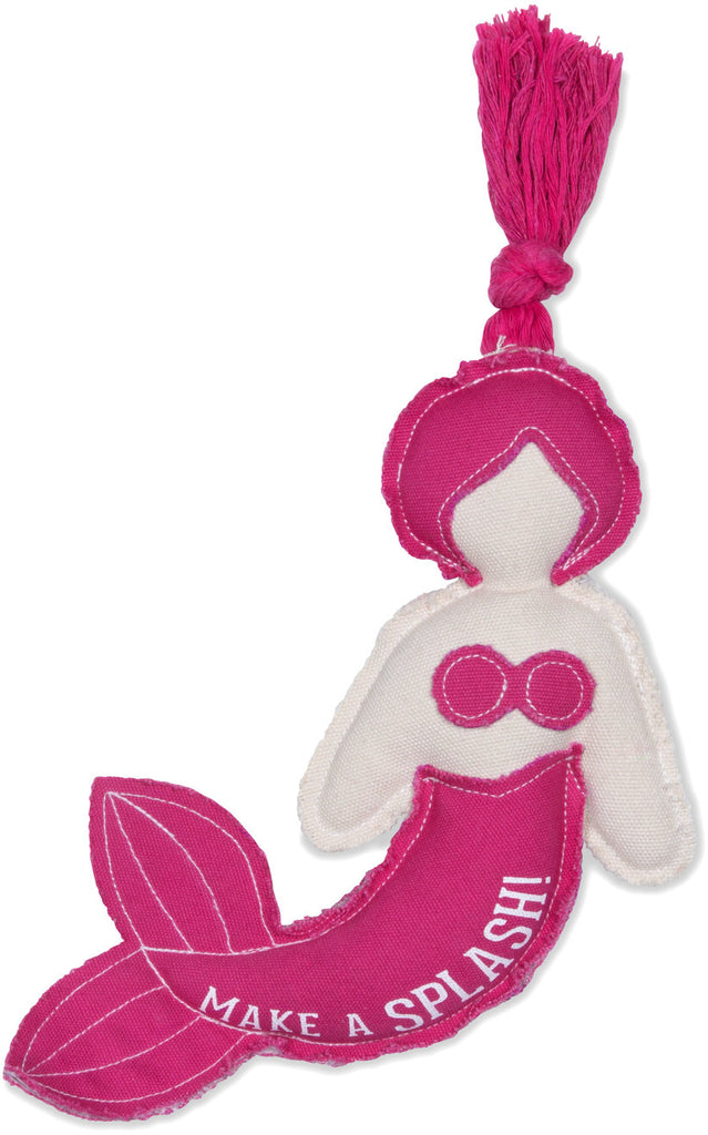 Mermaid Canvas Dog Toy