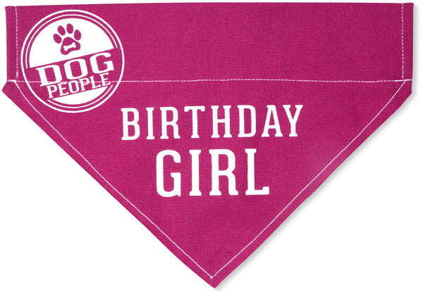 Birthday Dog Bandana - 2 Sayings - 2 Sizes