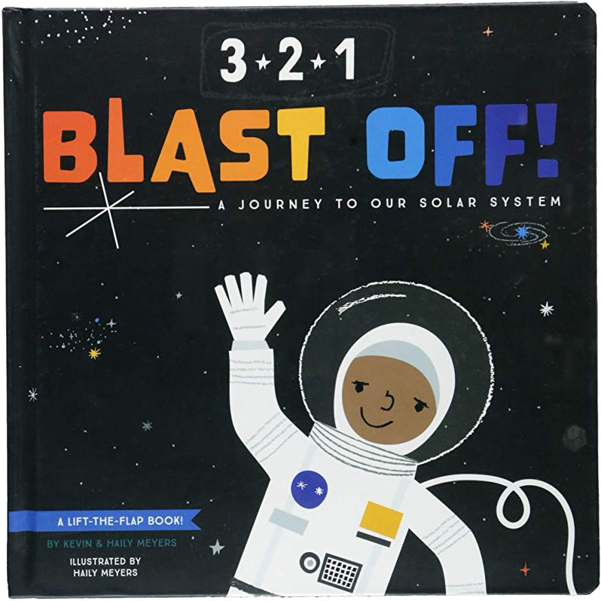 3-2-1 Blast Off! Children's Book