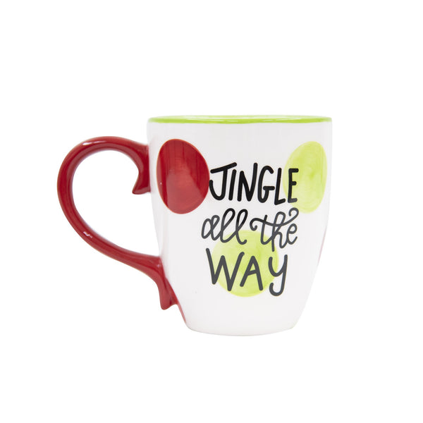 Holiday Jingle All The Way Dot Mug