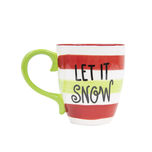 Holiday Let It Snow Mug