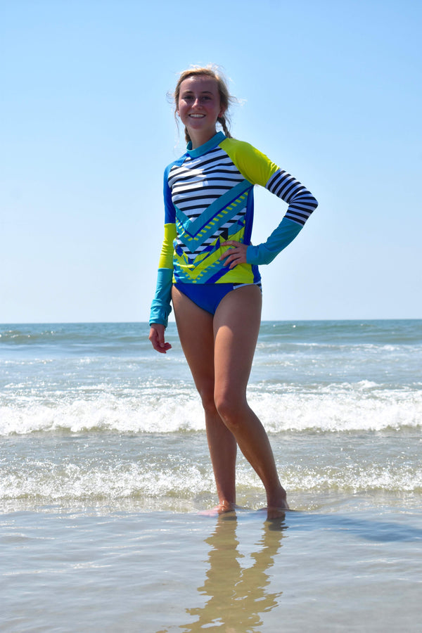 Rashguard with a Caribbean Flare-Set