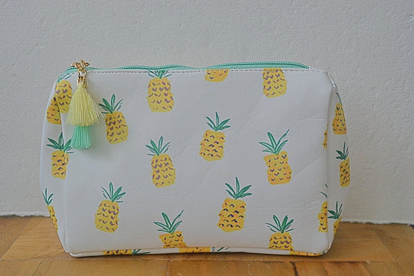 Catch All Cosmetic Bag with Tassel- 3 Styles - Bubbles Gift Shoppe