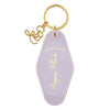 Vintage Motel Key Tag Keychain - 3 Designs
