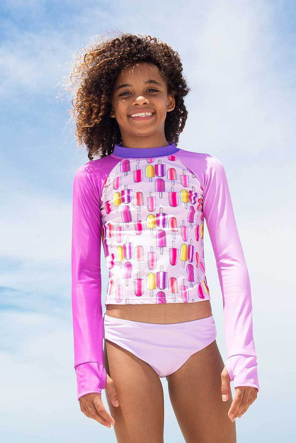 Rashguard with a Bit of Pop-sicle -Set