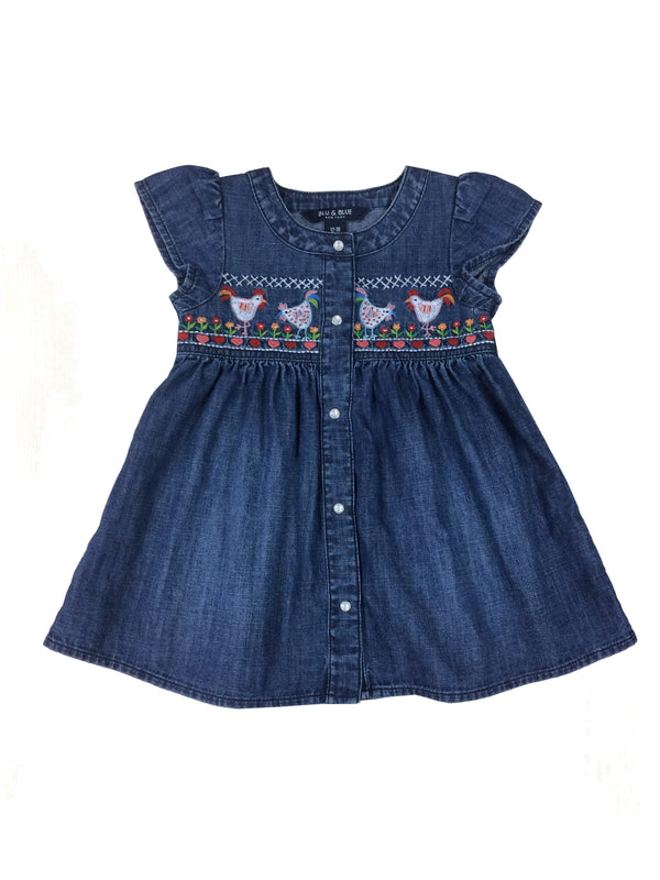 Helena Smocked Hen Dress