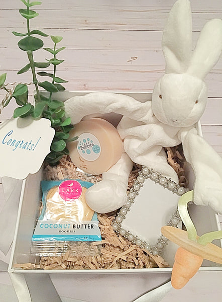 Welcome Baby Bundle-Gift Box - Bubbles Gift Shoppe
