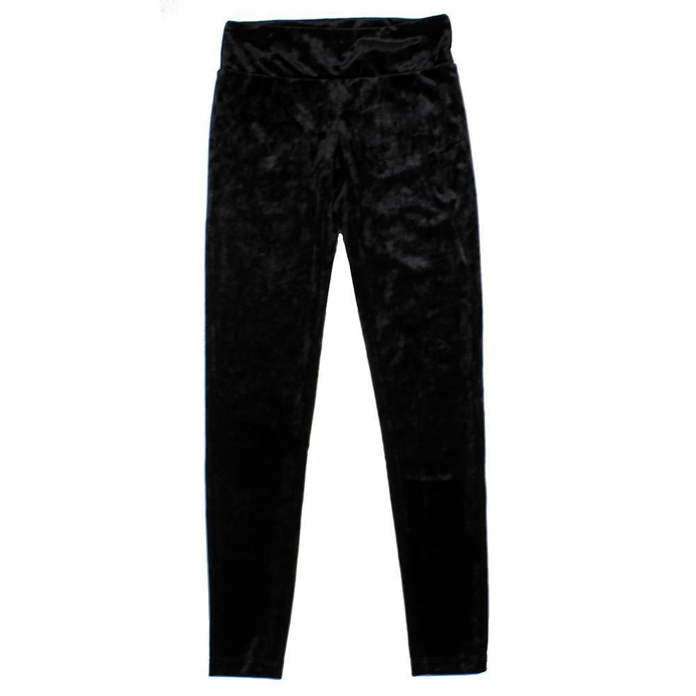 Velvet Leggings with Back Pocket - Kids