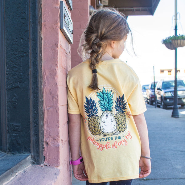 Pineapple Hedgehog T-shirt - YOUTH