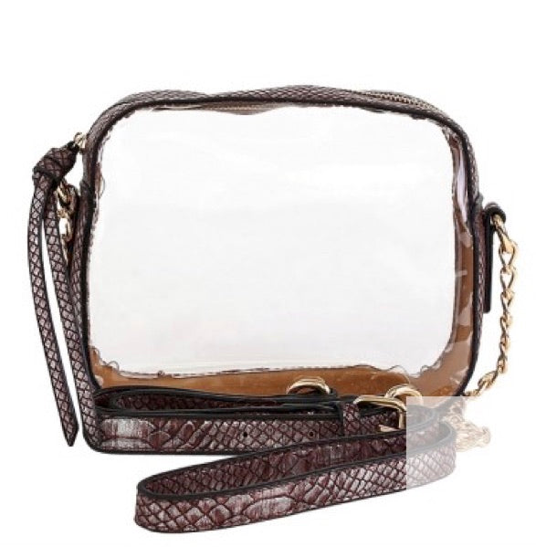 Clear Crossbody Bags for Friday Night Lights