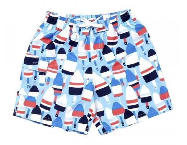 Oh Buoy Boys Swimsuit- Kids - Bubbles Gift Shoppe