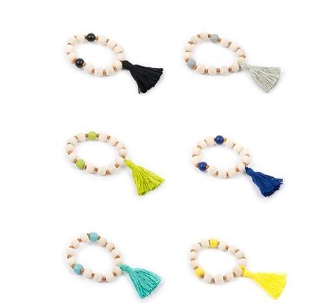 Summer Tassel Bracelet- 6 colors