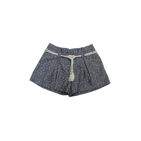 Sailor Chambray Shorts- Tween and Kids