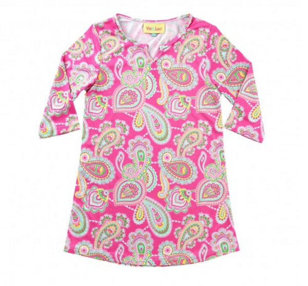 Lizzie Girl's Paisley Dress