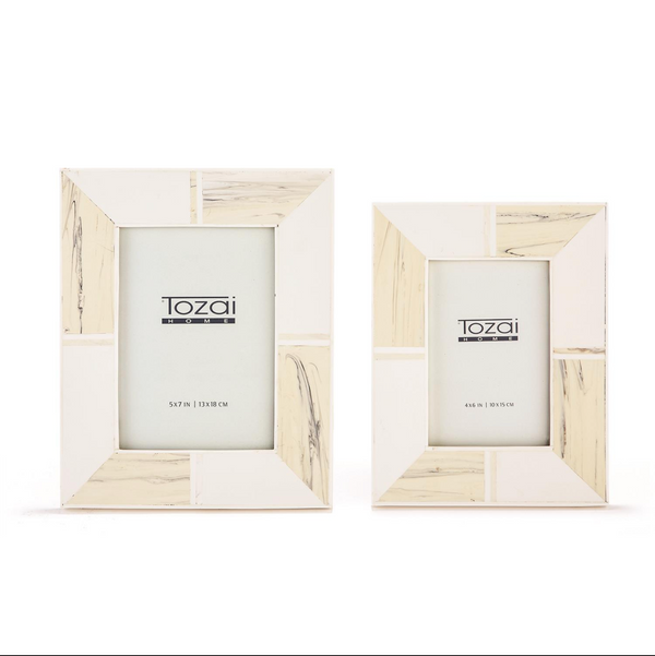 Blanc Dvoir Picture Frames - 2 Sizes