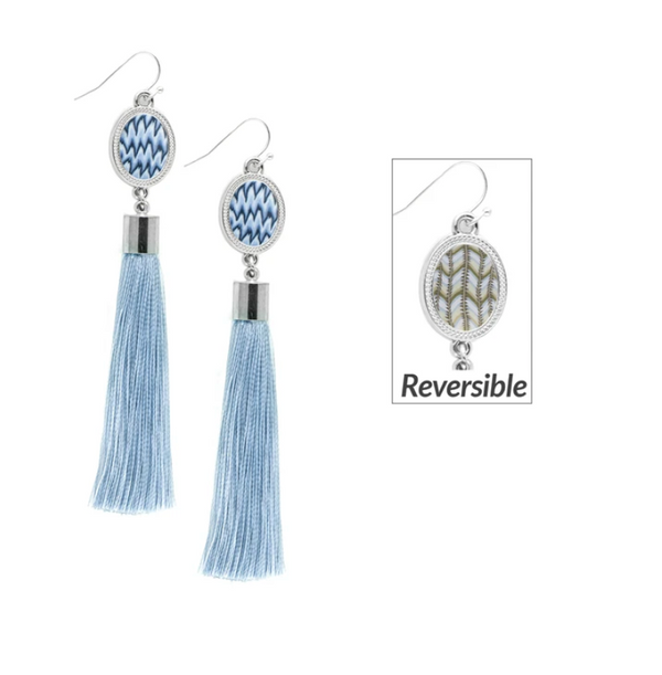 Jilzarah Tassel Earrings - 2 Style