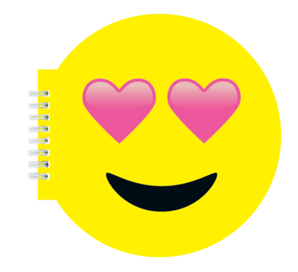 Heart Eyes Emoji Scented Notebook