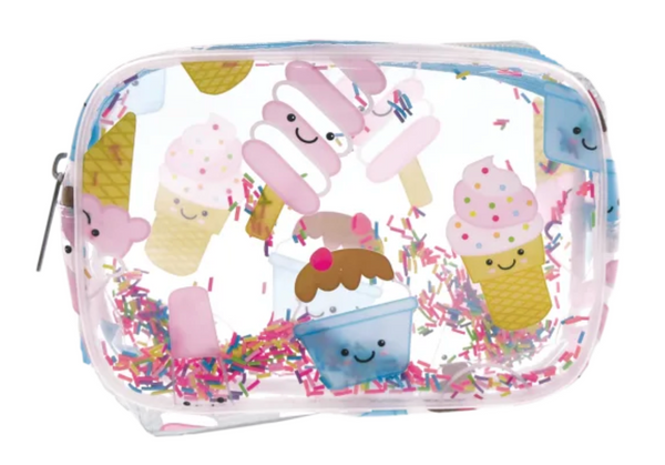 Ice Cream Treats Clear Cosmetic Bag