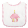 Cupcake Birthday Feeding Bib