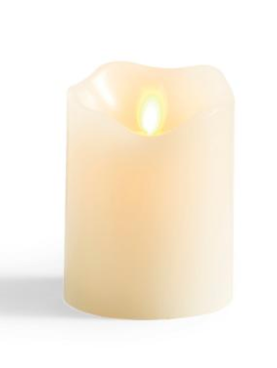 Flameless LED Pillar Candle - 3 Sizes