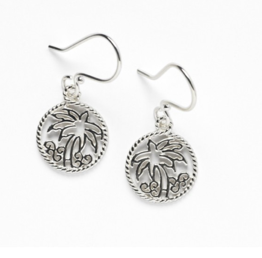 Southern Gates Palm Tree Earring