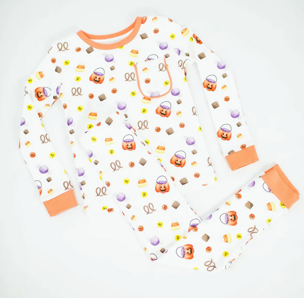 No Tricks, Just Treats! Organic Cotton Pajamas