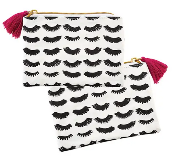 Eyelashes Coin Purse