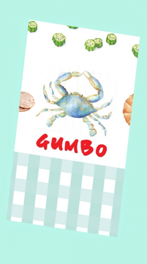 The Gumbo Kitchen Towel