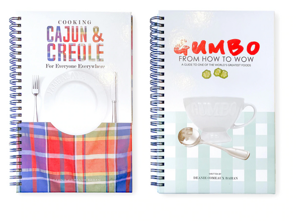Gumbo & Cajun-Creole Cookbooks, 2 Varieties