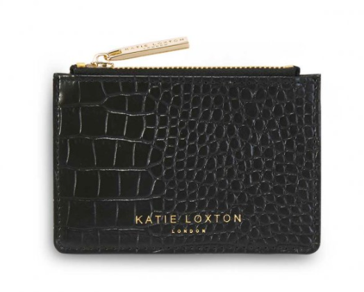 Black Snakeskin  Coin Purse Katie Loxton