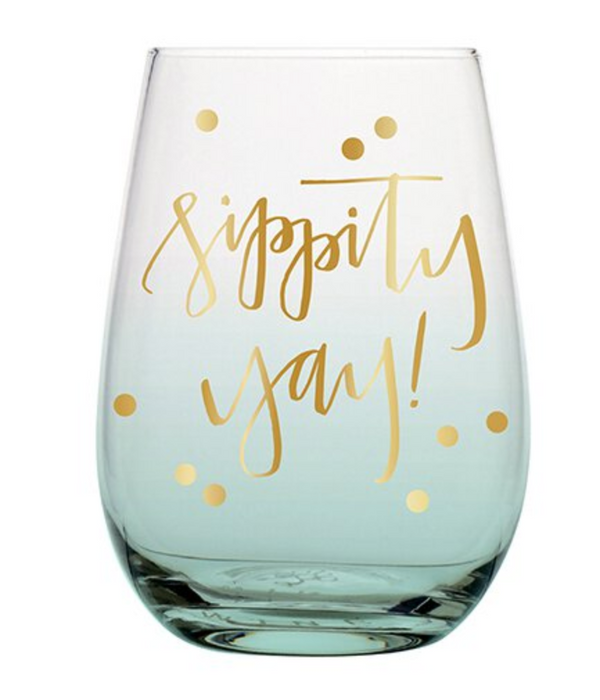 Wine Glass - Sippity Yay!