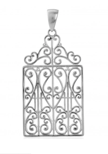 Southern Gates® Scroll Top Gate Pendant