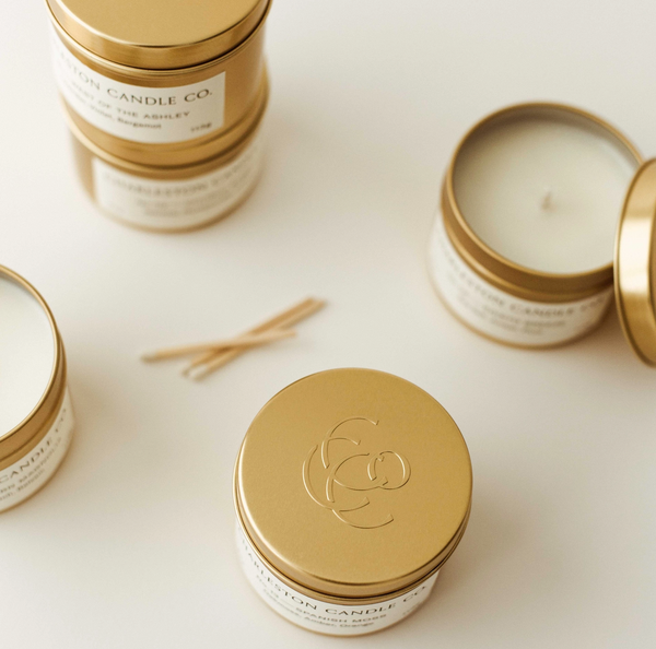Charleston Candle Co. Travel Tin Soy Candle