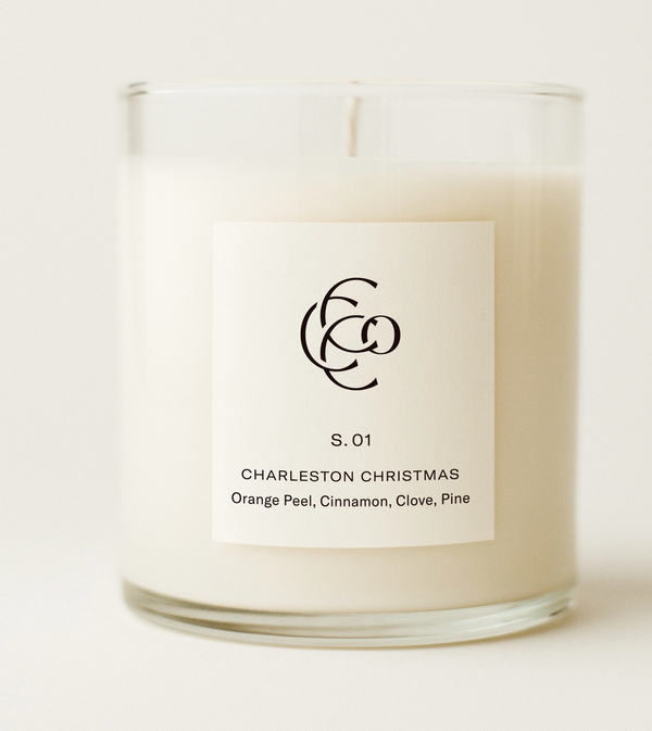 Charleston Soy Candle, 9oz.
