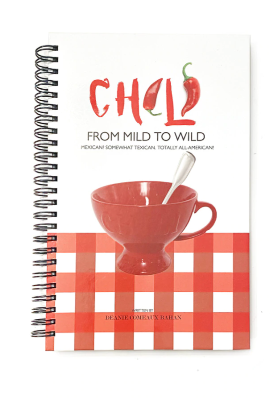 Chili or Chowder Cookbooks by, Deanie Bahan
