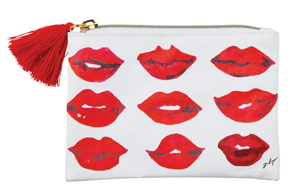 Coin Purse, Lips or Kisses