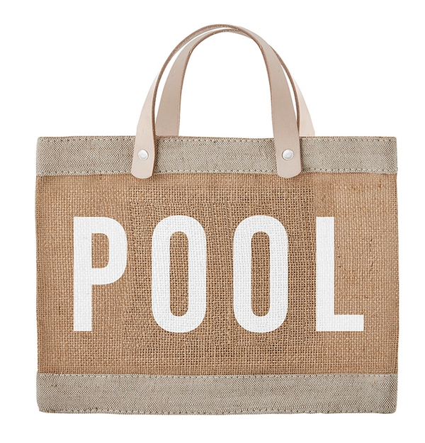 Mini Market Tote - Pool
