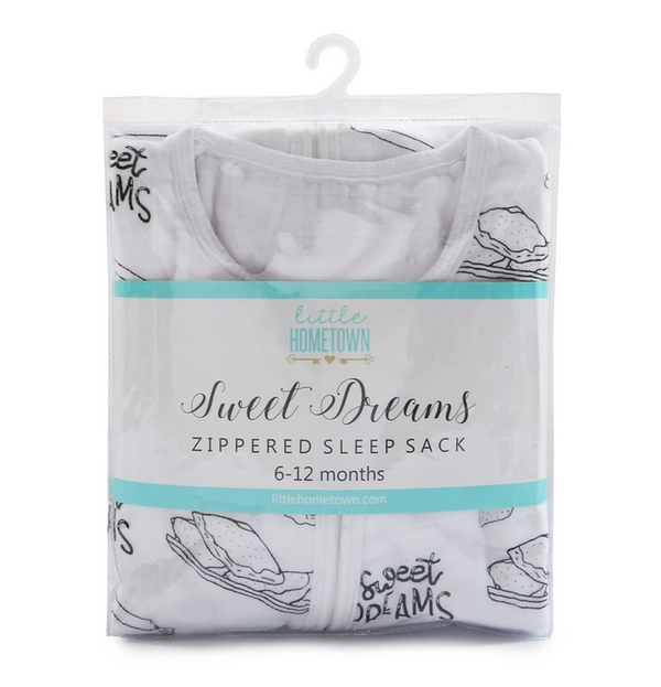 Sweet Dreams Zippered Sleep Sack