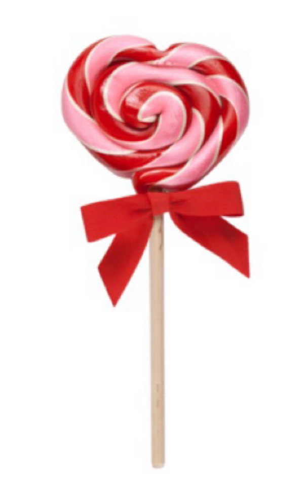 Hammond's - Strawberry Shortcake Heart lollipop 1oz.