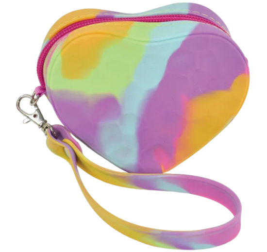 Heart Silicone Coin Purse